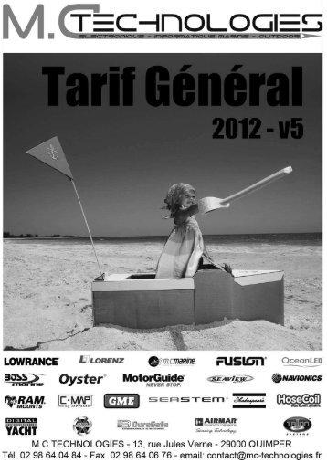 tarifs_general_2012_.. - MC Technologies