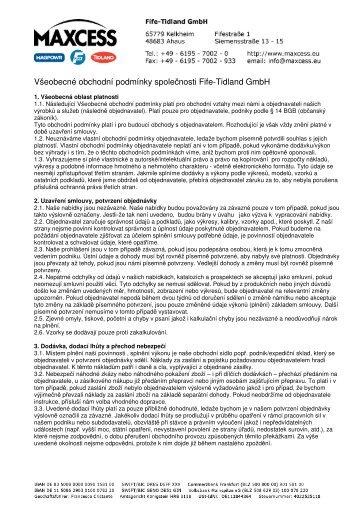 Fife-Tidland GmbH - Maxcess