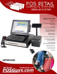 Page 1 POS RETAIL COMPLETE SYSTEMS PREMIUM SYSTEM ...