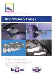 Safe Steelwork Fixings - F R Scott Ltd