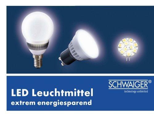 LEUCHTMITTEL LED Leuchtmittel - Schwaiger