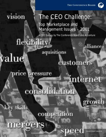 The CEO Challenge: - The Conference Board