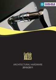 Carlisle Brass - F R Scott Ltd