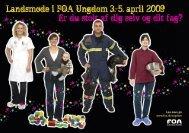 Postkort: FOA Ungdom landsmøde 3.-5. april 2009