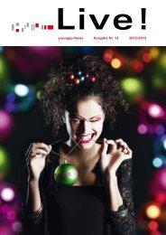 aktuellste ausgabe des LIVE magazins - young photo professionals