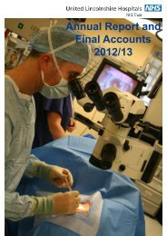 Trust Annual Report and Accounts 2012 / 2013 (PDF, 4.77MB)