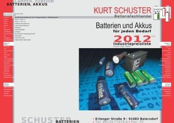 medizinische geräte medizinische geräte - Kurt Schuster Batterien ...