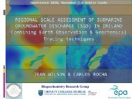 EO & Submarine Groundwater Discharge. - Geological Survey of ...