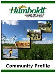 Community Profile 2009 - City of Humboldt