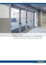 Geze Door Controls - F R Scott Ltd