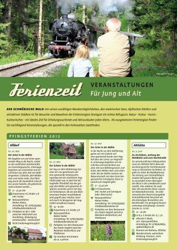 Pfingstferien 2012 - Schwäbischer Wald