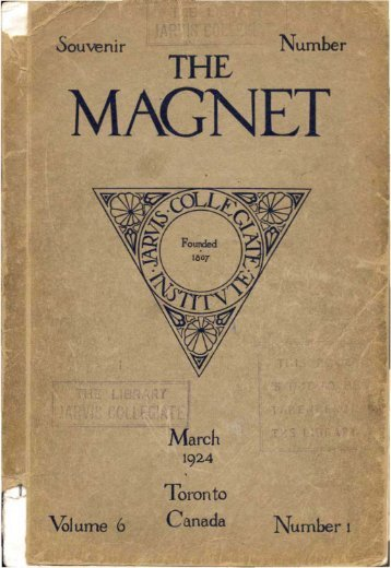 1924 Magnet Yearbook