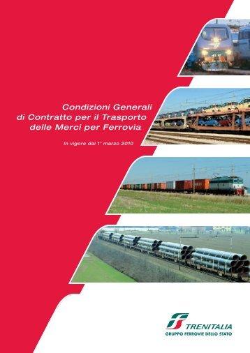 per il Trasporto delle Merci per Ferrovia - Ferrovie dello Stato Italiane