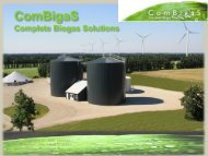 ComBigaS Complete Biogas Solutions