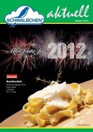 Alles Gute für 2012 - SCHWÄLBCHEN Frischdienst