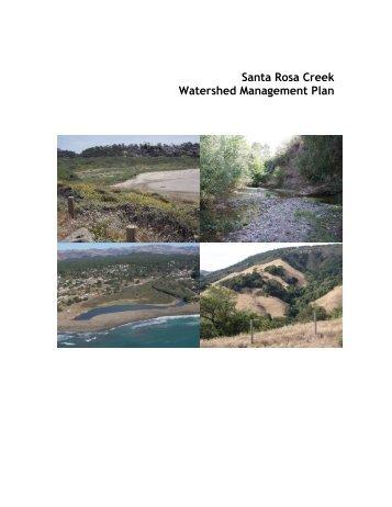 Santa Rosa Creek Watershed Management Plan - GreenSpace
