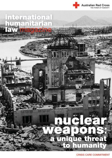 nuclear weapons - Australian Red Cross