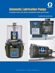 Automatic Lubrication Pumps - Graco Inc.