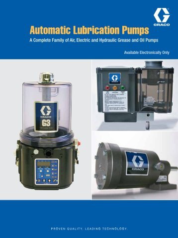 Automatic Lubrication Pumps - Graco Inc.