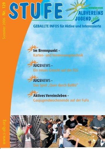 Download als pdf (4,1 MB) - Schwäbische Albvereinsjugend