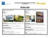 ÖGP 2013 - Hotels