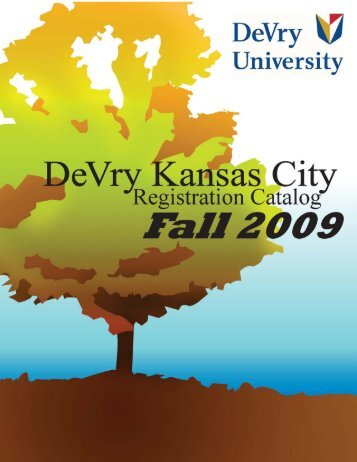FALL 2009 REG CAT - DeVry - Kansas City - DeVry University