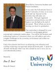FALL 2009 REG CAT - DeVry - Kansas City - DeVry University - Page 3