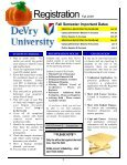 FALL 2009 REG CAT - DeVry - Kansas City - DeVry University - Page 4