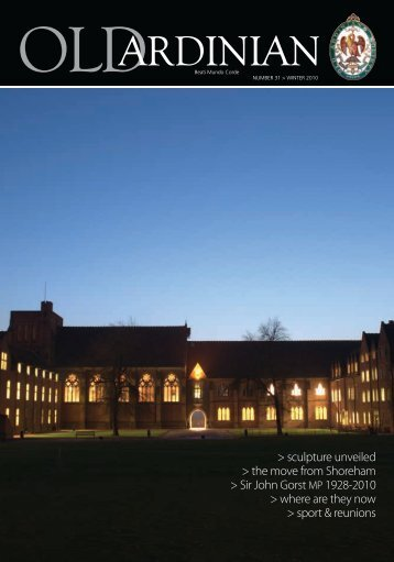 to view pdf - Ardingly College