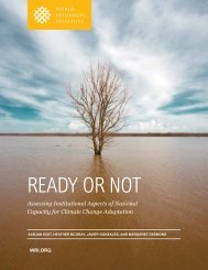 Ready oR Not - World Resources Institute