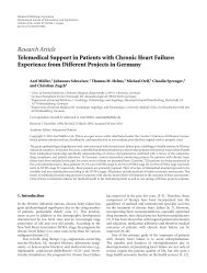 Telemedical Support in Patients with Chronic Heart Failure ...