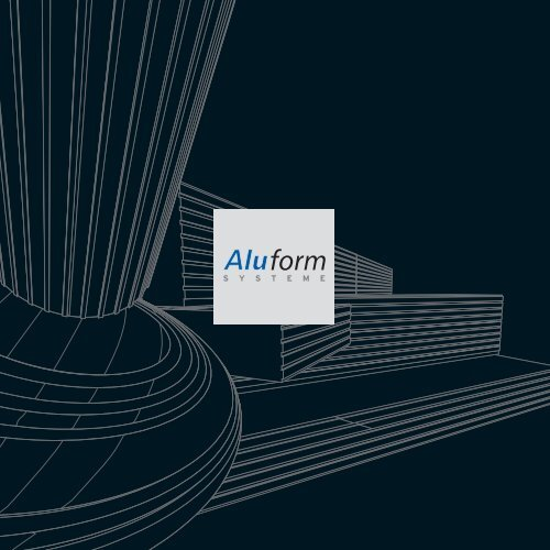 Aluform Corporate brochure - Logo der Aluform Systeme GmbH ...