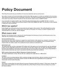 Policy Booklet - Lifestyle Services Group Ltd - Page 7