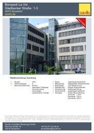 Büropark La Vie Gladbecker Straße 1-3