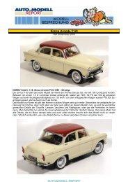 Simca Aronde P 60 - Auto-Modell-Report