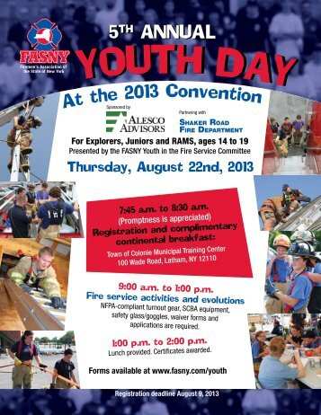 Youth Day Registration Form - FASNY