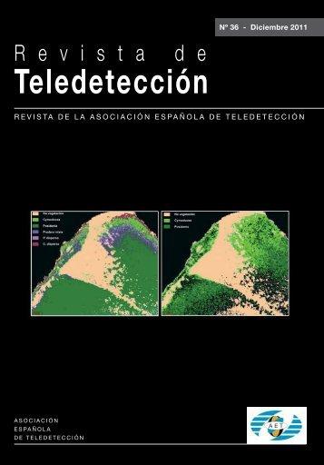 Editorial - Asociación Española de Teledetección