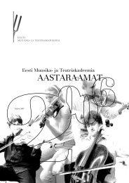 2006 (.pdf) - Eesti Muusika- ja Teatriakadeemia