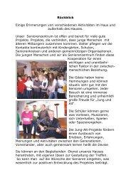 Bericht über das Adventssingen - Haupt- und Realschule Sickte