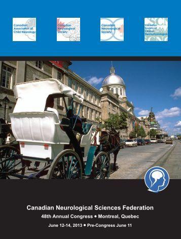 Download Program - Canadian Neurological Sciences Federation