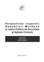 Perspectivele cooperării Republicii Moldova în cadrul Politicii de ...