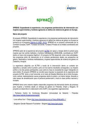 Clicar aquí para tener un resumen del proyecto en castellano - Surt