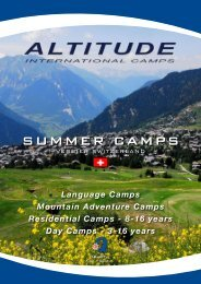 SUMMER CAMPS - Educouturier