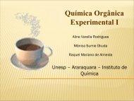 Química Orgânica Experimental I - cempeqc - Unesp