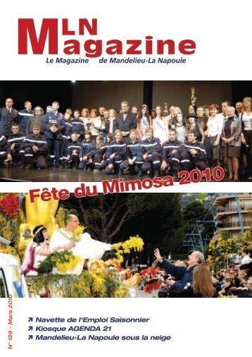 MLN Magazine - Mars 2010 - Mandelieu La Napoule