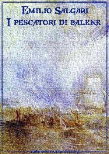 """""""I pescatori di balene"""" di Emilio Salgari - Altervista"""
