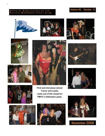 November 2008 - Pacific Mariners Yacht Club