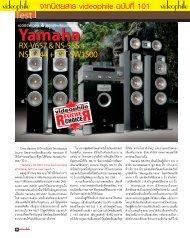 a/w Test Yamaha - Piyanas