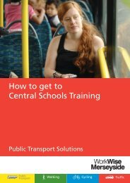 How to get to Central Schools Training - the TravelWise Merseyside ...