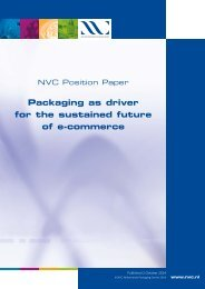 NVC Position Paper Packaging as Driver for the Sustained Future of E-Commerce 2 oct 2014
